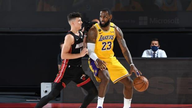 Tyler Herro Says LeBron James Is The Final Boss