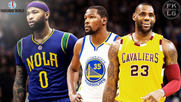 Top 5 Front Courts in the NBA 2016/17