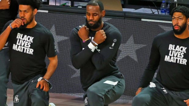 """LeBron James: """"To Lose The Black Panther And The Black Mamba In The Same Year, We Can All Agree 2020 Is The S******* Year"""""""