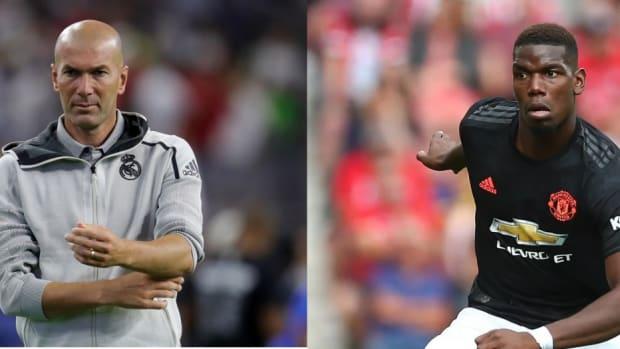 Paul Pogba Spotted With Zinedine Zidane In Dubai During Injury Rehab