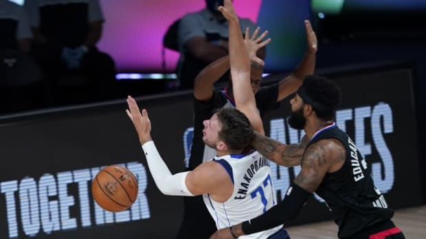 Marcus Morris Sends A Message To Luka Doncic: 'Cry Me A River'