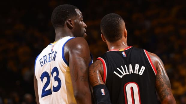 """Damian Lillard Says Draymond Green Convinced Him To Take More Shots After Olympic Loss To France: """"You Passing Up Opportunities Like That Doesn't Serve This Team Well"""""""