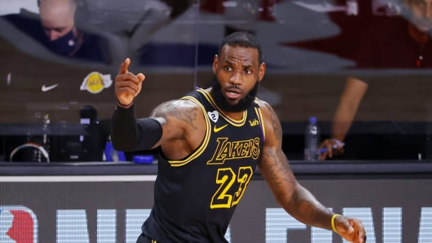 "LeBron James: ""Would You Rather Be At War With Yourself And At Peace With The World Or At Peace With Yourself And At War With The World!?"""