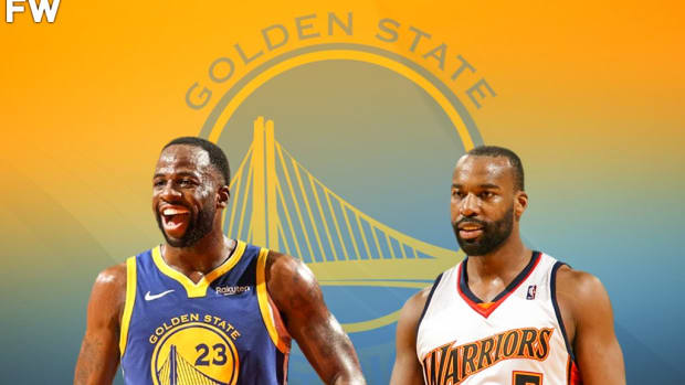 """Baron Davis Shares The Story Of When Draymond Green Couldn't Guard Him 2 Years Ago: """"He Tried To Post Me Up, I Kept Yelling """"I'm Baby Draymond!"""" And He Was Pissed."""""""