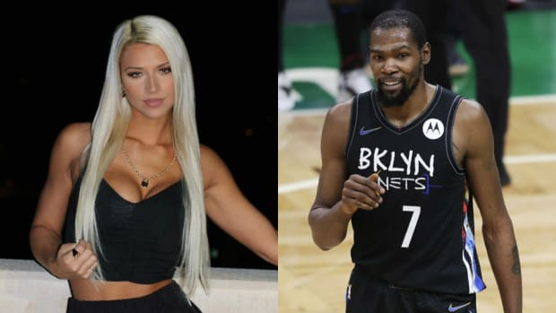 Kevin Durant Caught Liking A Series Of Pics From Oklahoma State Track Star Brooke Thomas