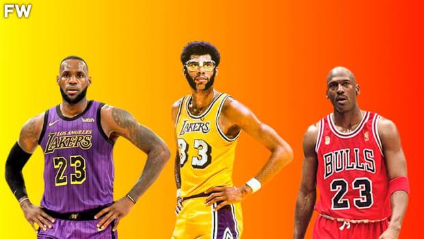 LeBron James, Kareem Abdul-Jabbar, Michael Jordan