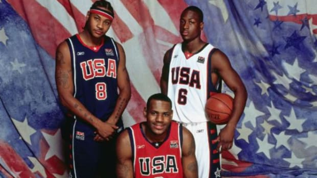 Dwyane Wade And Carmelo Anthony Open Up On Joining The 2004 Olympic Team As Last-Minute Replacement