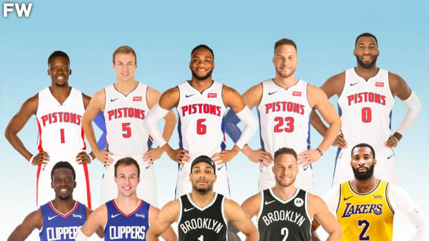 The Entire 2019-20 Detroit Pistons Starting Lineup Is Now Playing For A Ring On Brooklyn Or Los Angeles