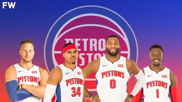 The Pistons Turned Blake Griffin, Tobias Harris, Andre Drummond And Reggie Jackson Into A 2nd Round Draft Pick