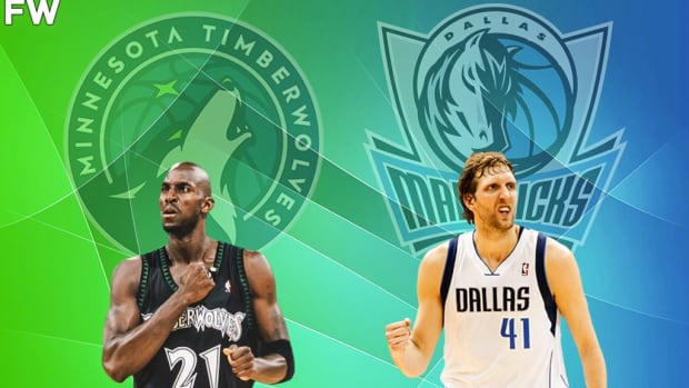 'Time To Remind Everyone Dirk Took Two Entirely Different Teams To The Finals Five Years Apart In An Era In Which Two Franchises Dominated The West With Multiple No-Brainer HoFs,' Says NBA Fan
