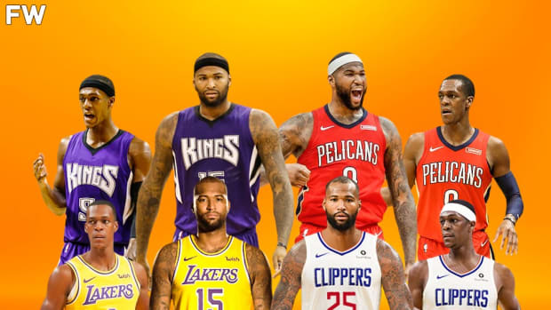 DeMarcus Cousins and Rajon Rondo Will Play Together For The Fourth Time Since 2015-2016