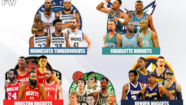 5 Legendary Superteams That No One Would Beat: Celtics, Rockets, Nuggets, Timberwolves, Hornets
