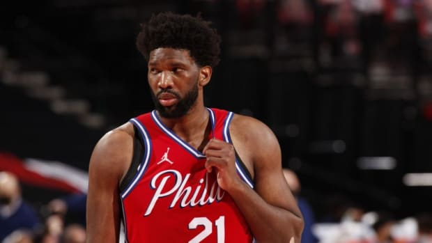 """Joel Embiid Mocks The All-Star Game After Being Ruled Out: """"Mickey Mouse All-Star Game Ha"""""""