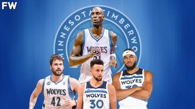 The Timberwolves Are The Worst NBA Franchise In The Last 15 Years: They Didn't Draft Stephen Curry, They Wasted Garnett And Love's Prime, They Have KAT And Only One Playoff Appearance