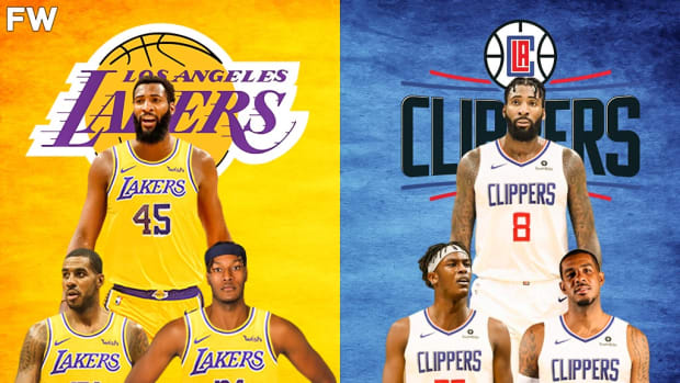 lakers clippers players