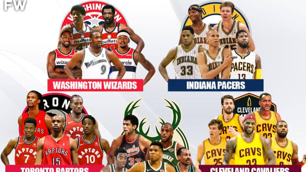 5 Legendary Superteams That No One Would Beat: Bucks, Raptors, Cavaliers, Wizards, Pacers