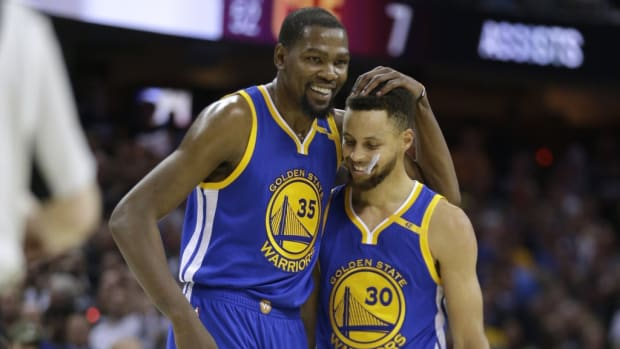 Kevin Durant's Reaction When He First Saw Stephen Curry: 'I Thought He Was White.'