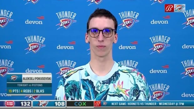 NBA Fan On Aleksej Pokusevski: 'He Is A Part-Time NBA Player And A Full-Time Cryptocurrency Trader'