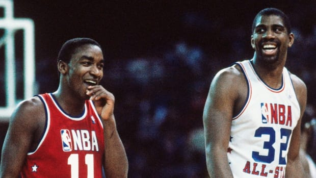 """Magic Johnson's Honest Thought On Isiah Thomas Dream Team Snub: """"He Should Have Been On The Team. He Just Had Problems With So Many Guys On That Team, Or They Had Problems With Him."""""""