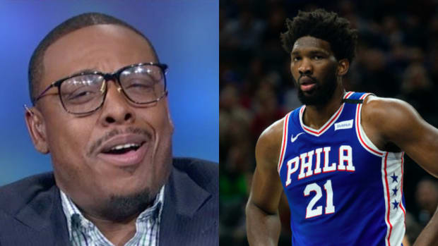 Paul Pierce Tried To Explain Joel Embiid's Importance And MVP Case Before Realizing The Sixers Won By 35 Without Him