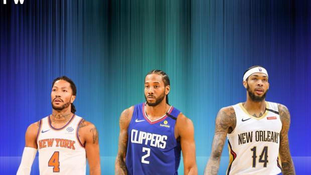 Derrick Rose, Kawhi Leonard, And Brandon Ingram Are Among The 10 Worst Clutch Shooters This Seasons