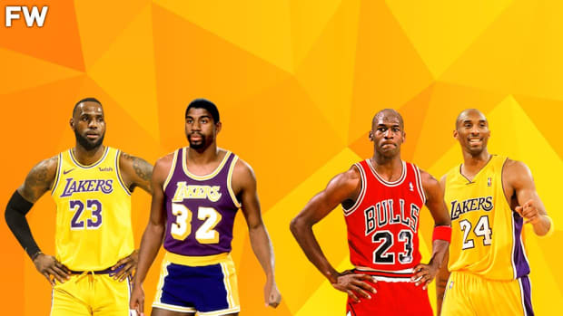 """Charles Oakley On His Favorites NBA Players Of All Time: """"LeBron Is Better Than Magic, And Mike Was Better Than Kobe. And Kobe Is Better Than Magic."""""""