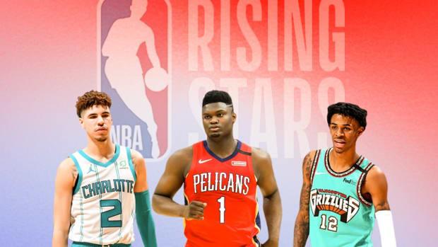 LaMelo Ball, Zion Williamson And Ja Morant Lead 2021 NBA Rising Stars Rosters