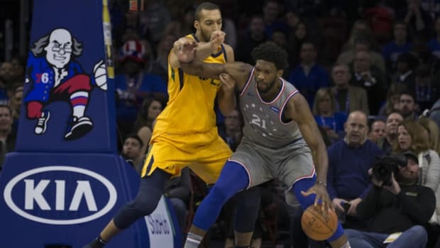 """Joel Embiid: """"According To Reporters, I'm Scared Of Rudy Gobert And I'm Scared Of Top Centers. As We Saw Tonight, It Looks Like I Was Very, Very Scared Of Him. So Yeah, Keep Talking."""""""