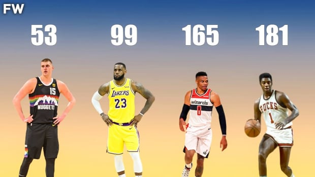 Top 10 players With The Most Triple-Doubles In NBA History