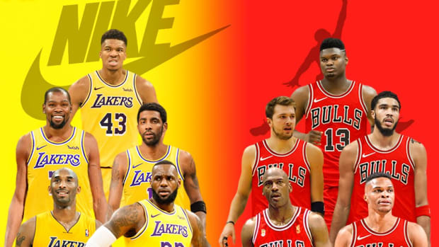 The Duel Of Two Superteams: Nike Players vs. Jordan Players