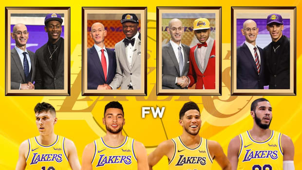 The 4 Worst Draft Mistakes By The Los Angeles Lakers In The Last 10 Years
