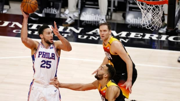 """Ben Simmons Takes A Big Shot At Rudy Gobert: """"He Guarded Me In Utah. I Had 42. And Apparently, I'm Not A Scorer. It Is What It Is."""""""