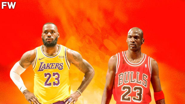 """LeBron James On Comparison With Michael Jordan: """"There's Always Going To Be Conversations About LeBron Trying To Do Everything That Michael Did. You Know What You Believe In, And You Know What You Stand For."""""""