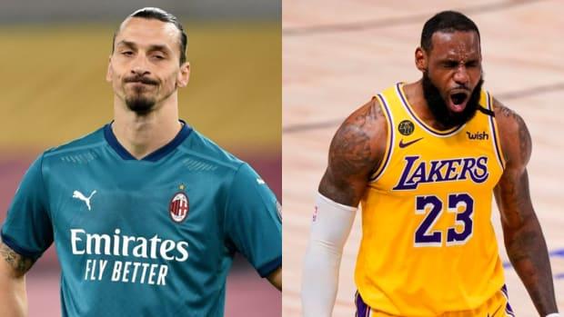 "Zlatan Ibrahimovic Responds To LeBron James: ""Politics Divides The World, Sport Unites It."""