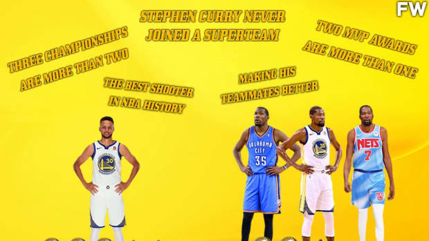 5 Reasons Why Stephen Curry Ranks Higher On The All-Time List Than Kevin Durant