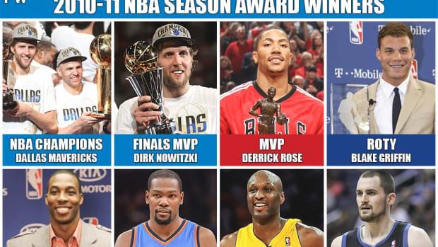 2011 NBA Season Was A Big Surprise: Dirk Nowitzki Wins The Championship, Derrick Rose Wins The MVP, Blake Griffin Wins ROTY
