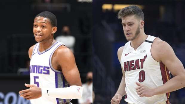 """De'Aaron Fox Sends Big Message To Meyers Leonard: """"I Wouldn't Say No S**t On Stream. That's Dumb As S**t."""""""
