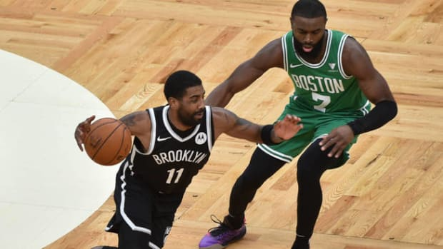 The Media Wanted Jaylen Brown Instead Of Kyrie Irving As An All-Star Starter