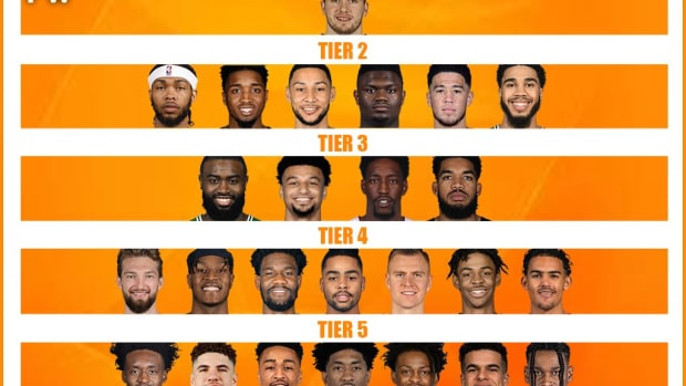 Ranking The Best NBA Players 25 And Under By Tiers