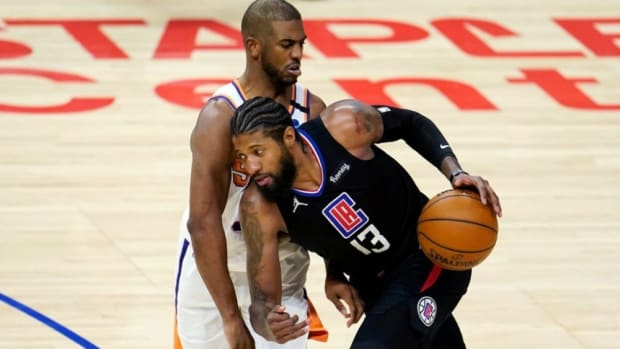 "Paul George Fires Back At Phoenix Suns: ""I Don't Know What That Chirp Is About. We Focused On Us. I Don't Care What They're Doing Over There."""