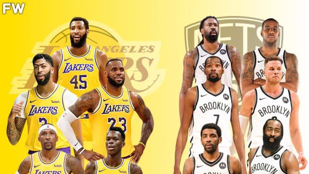 The Full Comparison: Los Angeles Lakers vs. Brooklyn Nets Superteam