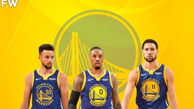 Golden State Warriors Were One Pick Away From Creating A Trio Of Steph, Dame, And Klay