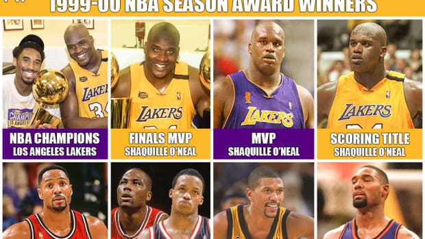 2000 Was A Great Year For Lakers Fans: Shaq Wins MVP And Finals MVP, Leads Lakers To First Championship Of The Three-Peat