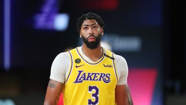 Report: Anthony Davis To Return To Lakers Lineup On Thursday vs. Dallas Mavericks