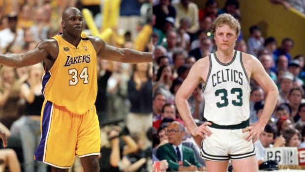 Shaq O'Neal Says He Used To Hate Larry Bird: 'He Was A Regular Guy Who Did Everything... Shot In Your Face, He Had The Fadeaway.'