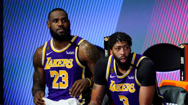 Charles Barkley Says The Lakers Can't Beat The Nuggets And The Blazers In The Playoffs Even With LeBron James