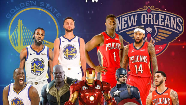 ESPN Will Present Marvel-Theme Game Between Warriors And Pelicans On May 3: Stephen Curry, Draymond Green, Andrew Wiggins vs. Zion Williamson, Brandon Ingram, Lonzo Ball