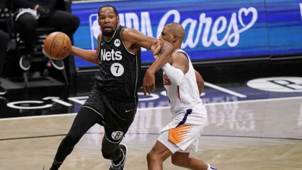 "Kevin Durant On If The Phoenix Suns Were A Test For The Nets: ""I Think We Were A Measuring Stick For Them."""