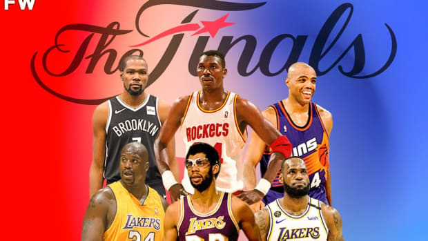 NBA Players Who Averaged 25+ PPG, 10+ RPG, And 5+ APG In The Finals