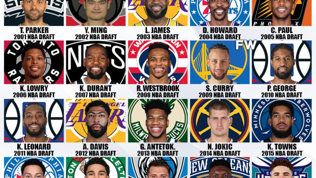 Ranking The Best Draft Picks Per Season In The Last 20 Years